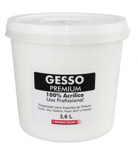 Gesso Acrílico Cromacolor Premium 3.6L