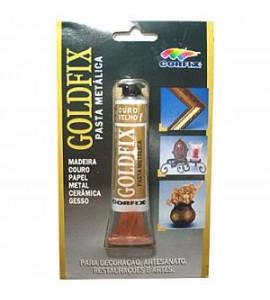 Goldfix Pasta Metálica Corfix Ouro Velho 20ml