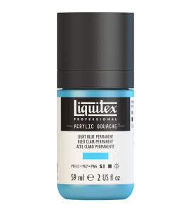 Tinta Guache Acrílica Liquitex 59ml S1 770 Light Blue Perm