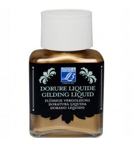 Tinta Liquida Para Douração Lefranc & Bourgeois 75ml Pale Gold (Ouro Pálido)