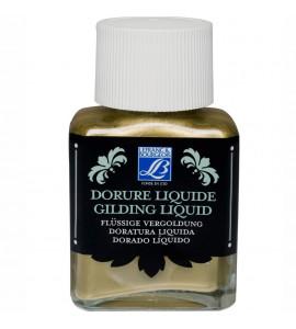 Tinta Liquida Para Douração Lefranc & Bourgeois 75ml Rich Gold (Ouro Rico)