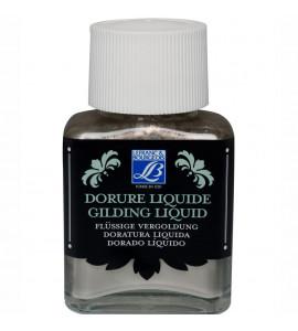 Tinta Liquida Para Douração Lefranc & Bourgeois 75ml Rich Silver (Prata)