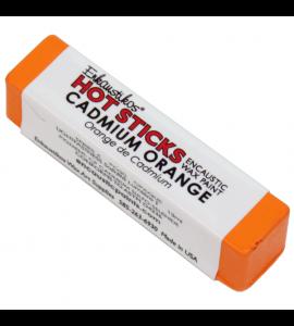 Bastão Encáustica Hot Sticks Cadmium Orange G4