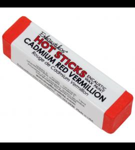 Bastão Encáustica Hot Sticks Cadmium Red Vermilion G5