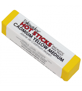 Bastão Encáustica Hot Sticks Cadmium Yellow Medium G4
