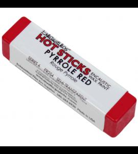 Bastão Encáustica Hot Sticks Pyrrole Red G6
