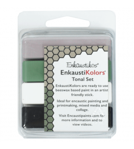Kit Encáustica Hot Sticks 4 Cores Tonais
