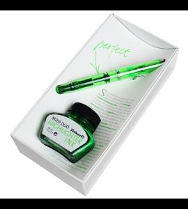 Caneta Tinteiro Pelikan Edição Especial Duo 205 Shiny Green