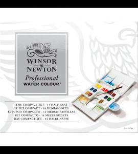 Tinta Aquarela Pastilha Winsor & Newton Profissional 14 Cores