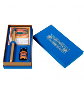 Kit Caligráfico Gift Herbin Azul