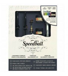Kit de Caligrafia Completo Speedball 3062