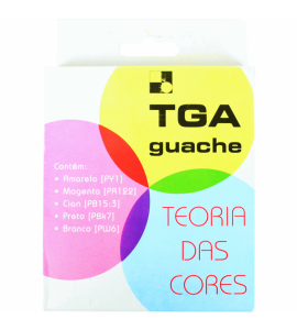 Tinta Guache TGA 05 Cores Básicas