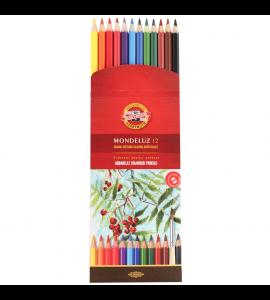 Lápis Aquarelável Koh-I-Noor Arte 12 Cores 3716A