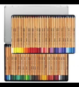 Lápis De Cor Aquarelável Estojo 72 Cores Lyra