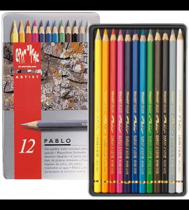 Lápis de Cor Pablo Caran d'Ache 12 Cores