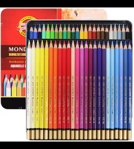 Lápis Aquarelável Koh-I-Noor Mondeluz 48 Cores