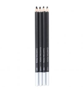 Lápis Carvão Charcoal Sinoart Kit 4 unidades