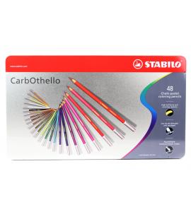 Lápis Pastel Aquarela Carbothello Stabilo 48 Cores