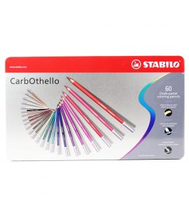 Lápis Pastel Aquarela Carbothello Stabilo 60 Cores