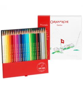 Lápis Caran D'Ache Prismalo Aquarelado 25 Cores Edição 100 Anos