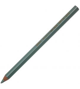 Lápis Jumbo Caran d'Ache Metálico Azul