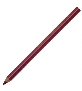 Lápis Jumbo Caran d'Ache Metálico Vermelho