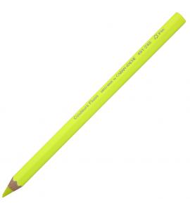 Lápis Jumbo Caran d'Ache Amarelo Neon