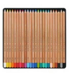 Estojo Lápis Pastel Seco Koh-I-Noor 24 Cores