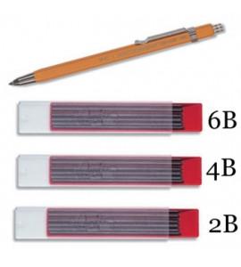 Lapiseira Koh-I-Noor 2.5mm 5205 Com Grafites