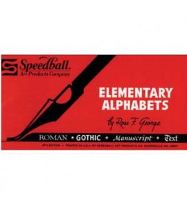 Livro de Caligrafia Speedball Elementary Alphabets
