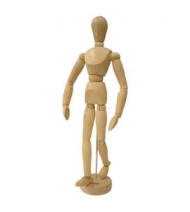 Boneco Articulado Para Desenho 20cm Masculino