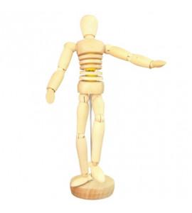 Boneco Articulado 20cm Torso Flexível Masculino