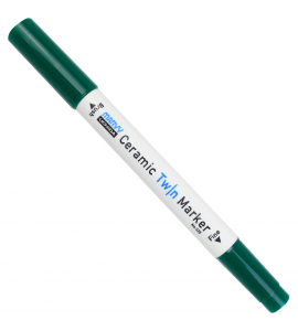 Caneta Marcador Para Cerâmica Twin Marker 04 Verde