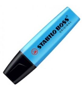 Caneta Marca Texto Stabilo Boss Azul 31