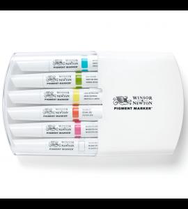 Marcador Winsor & Newton Pigment Marker Tons Vibrantes