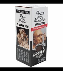 Massa Para Modelar Corfix 500g Dark Chocolate