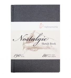 Bloco Sketchbook Para Desenho Nostalgie Hahnemühle A5 Retrato