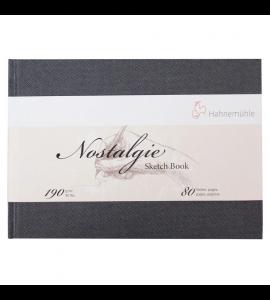 Bloco De Papel Para Desenho Sketchbook Nostalgie Hahnemühle A4 Paisagem