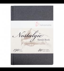 Bloco De Papel Para Desenho Sketchbook Nostalgie Hahnemühle A4 Retrato