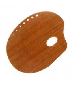 Paleta Para Pintura Trident Oval 31x40cm12402