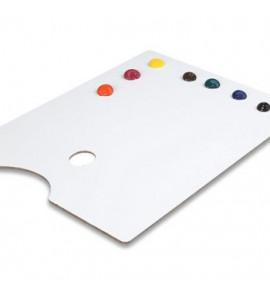 Paleta Para Pintura Trident Retangular 23x31cm 12414