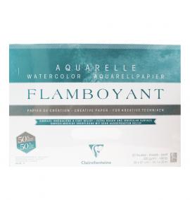Bloco de Papel Para Aquarela Flamboyant 300g 36x51cm 20 Folhas