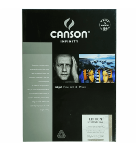 Papel Impressão Fine Art Edition Etching Rag 310 g/m² A3 25 Fls
