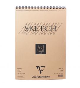 Bloco Sketchbook Desenho A3 50 Folhas Clairefontaine
