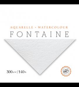Papel Para Aquarela Torchon Branco Fontaine 56x76cm 300g/m²