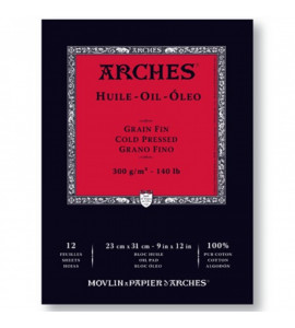 Bloco de Papel Para Tinta Óleo Arches® Oil 23x31cm