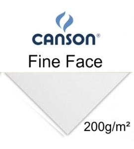 Papel Fine Face Canson 200g/m² Branco