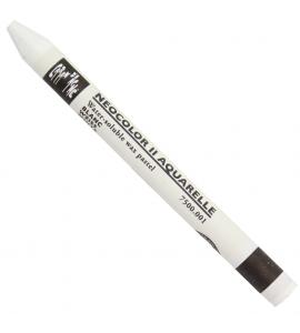 Giz Aquarelável Neocolor II 001 White Caran D'Ache