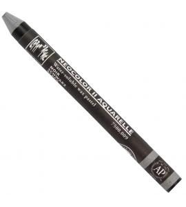 Giz Aquarelável Neocolor II 009 Black Caran D'Ache