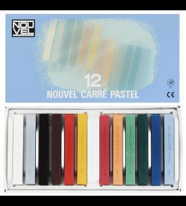 Pastel Seco Sakura Nouvel Carré 12 Cores NCT-12A